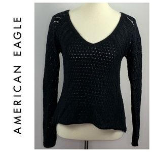 American Eagle Lightweight Wool Blend Sweater S